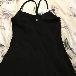NWT Lululemon Power Y Tank - Black